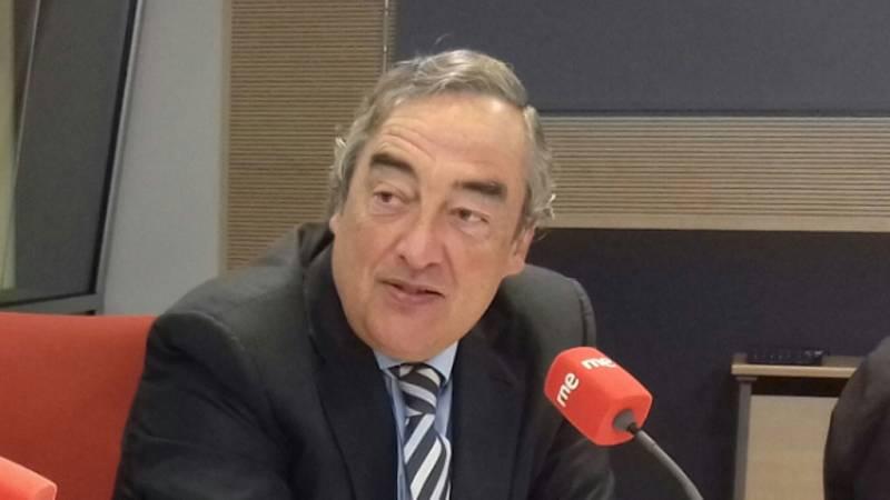 """Las mañanas de RNE - Juan Rosell (CEOE): """"La legislación laboral no se puede cambiar de un plumazo"""" - Escuchar ahora"""