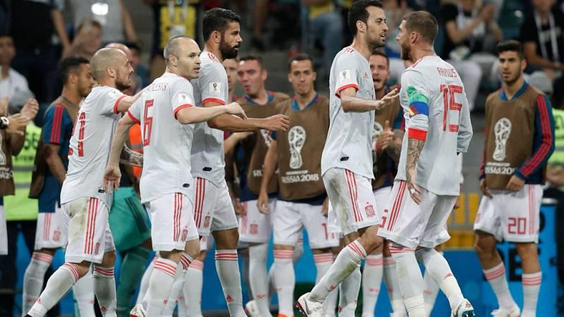 Tablero deportivo - Los goles de España en el empate a 3 ante Portugal - Escuchar ahora