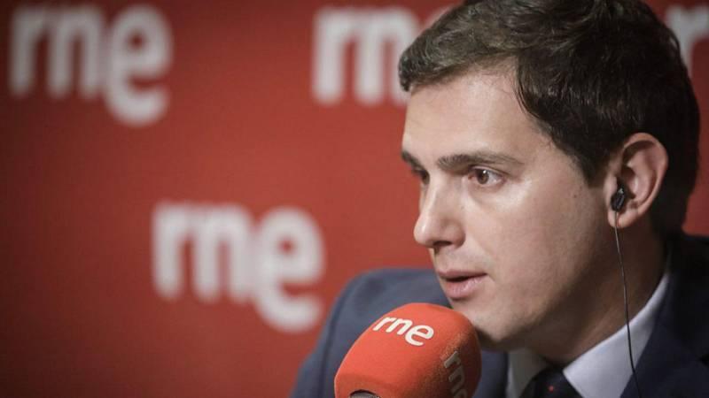 """Las mañanas de RNE - Rivera: """"Lo único que quería Sánchez era dormir en La Moncloa"""" - Escuchar ahora"""
