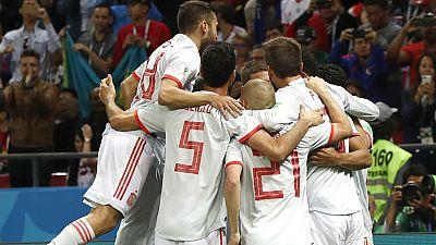 Tablero deportivo - Resumen del Irán 0 España 1 - Escuchar ahora