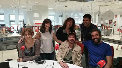 La sala - Los actores de 'La ternura', de Alfredo Sanzol, en edición exclusiva para RNE - 23/06/18 - escuchar ahora