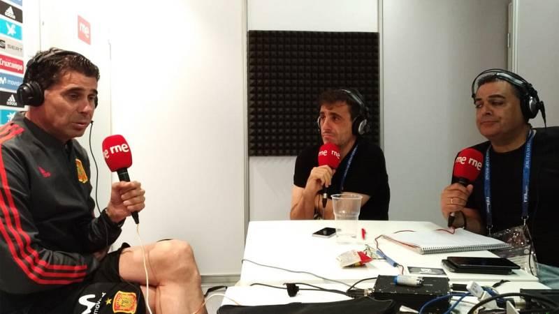 """Tablero deportivo - Fernando Hierro: """"El primer objetivo es clasificarnos"""" - Escuchar ahora"""