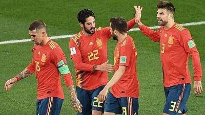 Tablero deportivo - España - Rusia - Escuchar ahora