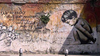 El Niño de las Pinturas, un pionero del grafiti en la ciudad de la Alhambra - Escuchar ahora