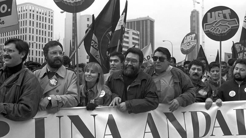 """Cándido Méndez: """"Hemos contribuido a generar, en el terreno de derechos y libertades, la España actual"""""""