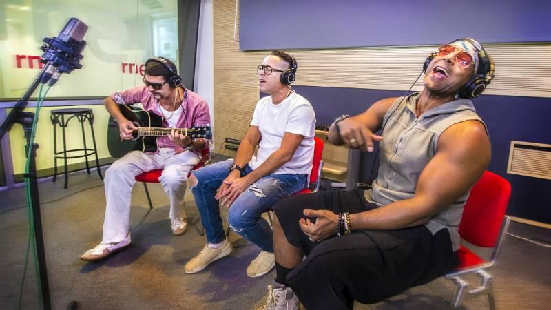 """Las mañanas de RNE - Orishas canta """"Voy a extrañarte siempre"""" en directo"""