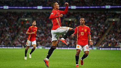 Tablero deportivo - Los goles del Inglaterra 1 España 2 - Escuchar ahora