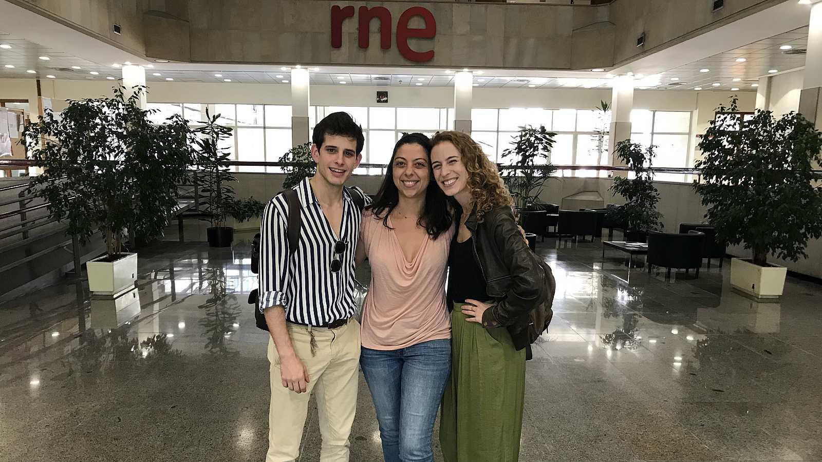 Dramedias con Paloma Cortina - Lara Grube y Álex Villazán en El curioso incidente del perro a medianoche - 23/09/18