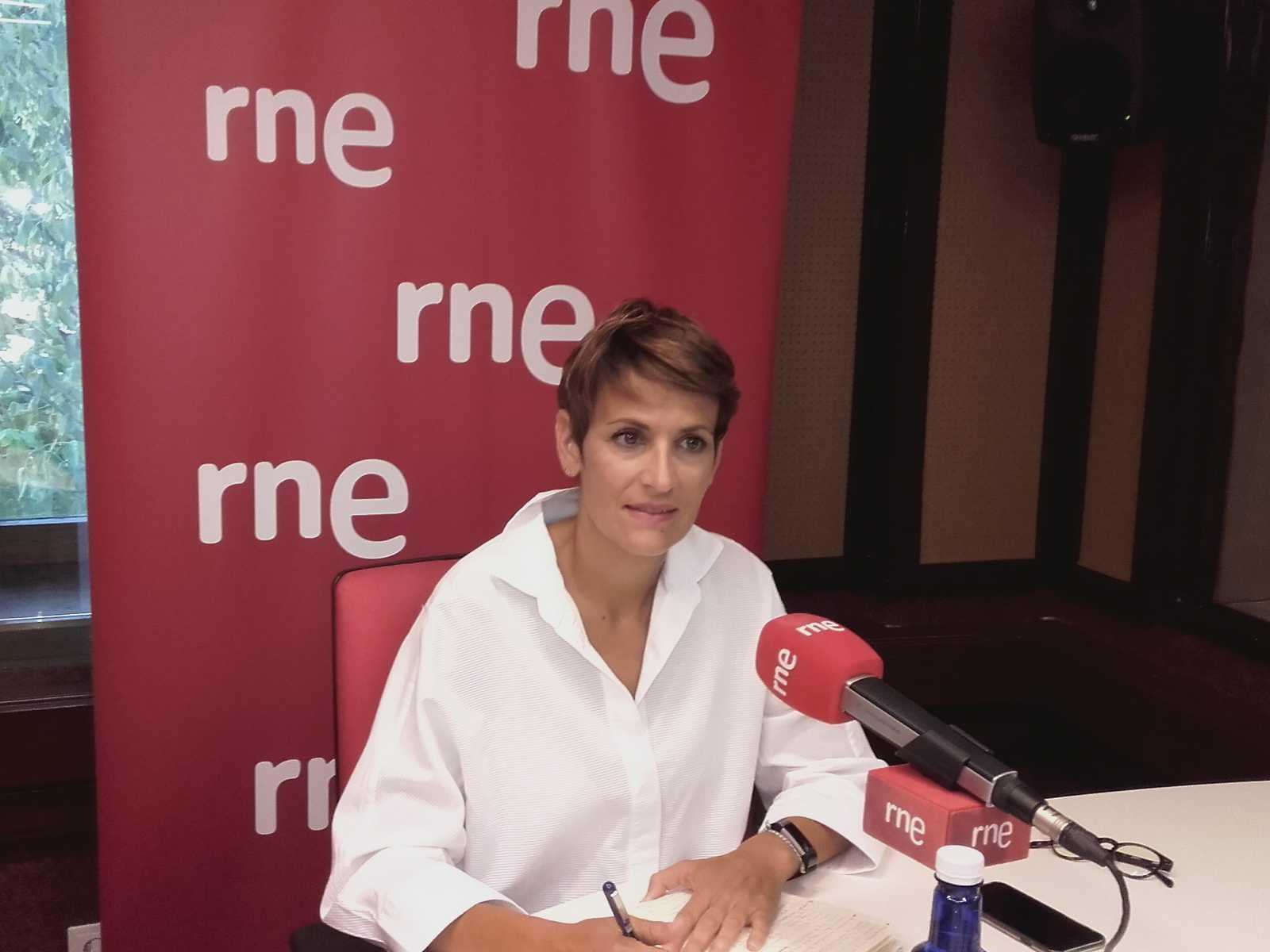 Entrevista - María Chivite / PSN - 25/09/18 - Escuchar ahora