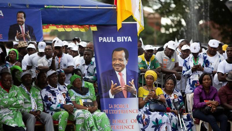 Cinco Continentes - Paul Biya busca revalidar su presidencia en Camerún este domingo - Escuchar ahora