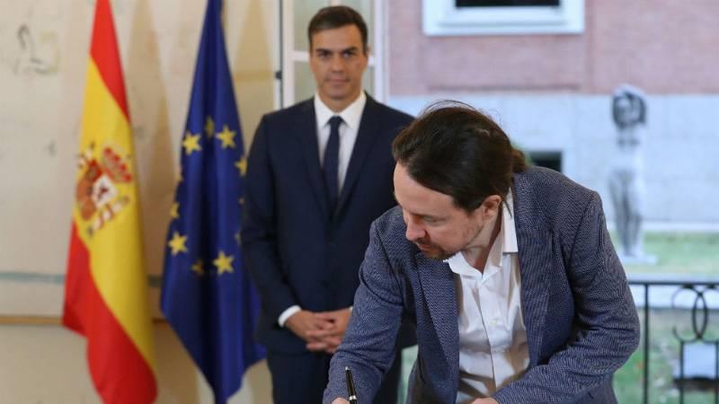 "14 horas - Pablo Iglesias: ""Hemos arrancado al Gobierno unos compromisos importantes e históricos"" - Escuchar ahora"
