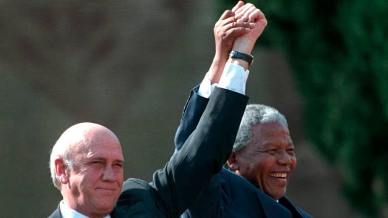 Las mañanas de RNE con Íñigo Alfonso - John Carlin recuerda el Nobel a Mandela y De Klerk - Escuchar ahora