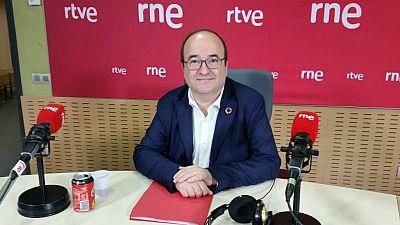 """Las mañanas de RNE con Íñigo Alfonso - Iceta (PSC): """"El independentismo está más desorientado y más dividido que nunca"""" - Escuchar ahora"""