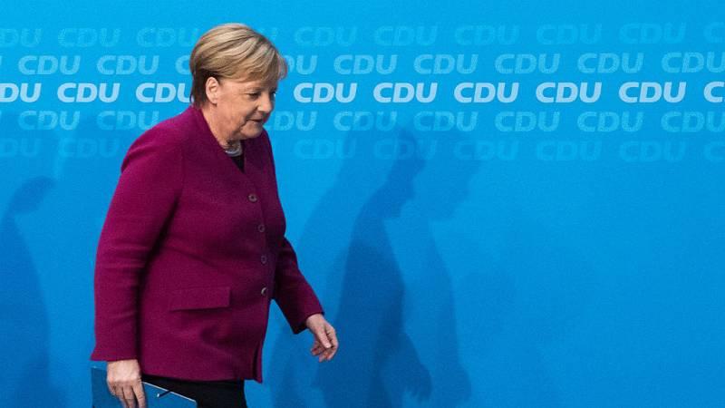14 horas - Merkel anuncia que no aspirará a la reelección como canciller - Escuchar ahora