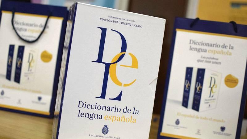 14 horas - La caída en las ventas del diccionario en papel ponen en peligro la financiación de la RAE - Escuchar ahora
