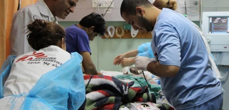 Las mañanas de RNE con Íñigo Alfonso - Visitamos una clínica de Médicos sin Fronteras en Gaza - Escuchar ahora