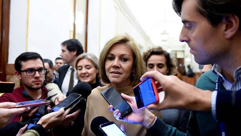 14 horas - Cospedal renuncia a sus cargos en el PP pero mantiene su escaño en el Congreso - Escuchar ahora