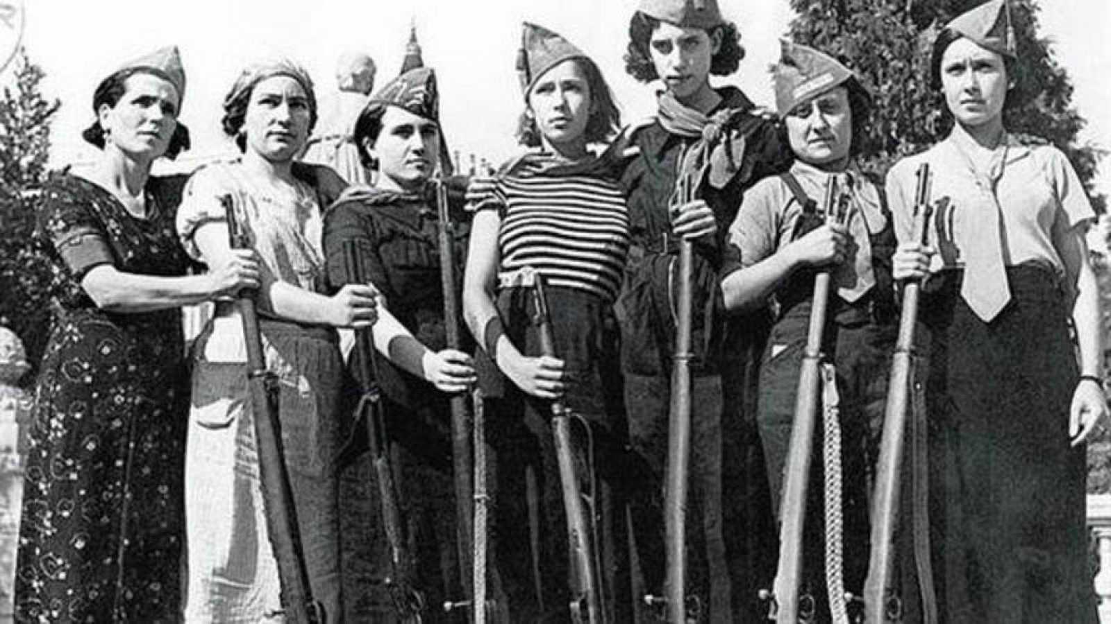 Documentos RNE - Milicianas: mujeres republicanas en las trincheras de la Guerra Civil Española - 10/11/18 - escuchar ahora
