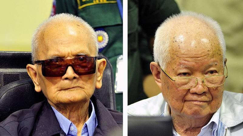 14 horas - Camboya condena a cadena perpetura para los dos últimos líderes de los jemeres rojos - Escuchar ahora