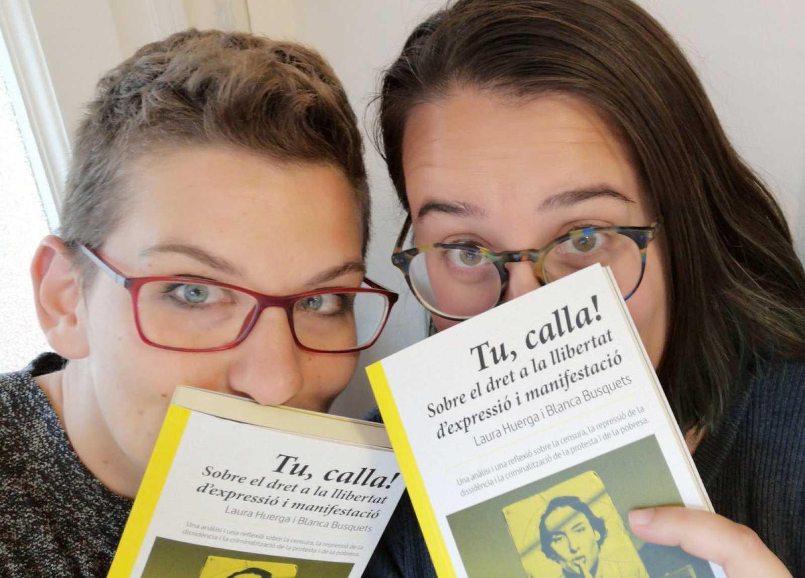 Llibres, píxels i valors - Tu, calla! Sobre el dret a la llibertat d'expressió i manifestació. Laura Huerga i Blanca Busquets