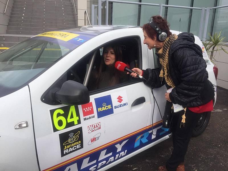 Emma Falcón, campeona de Europa de rallies - Escuchar ahora