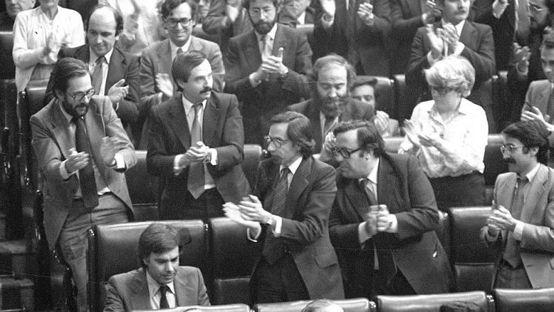 40 años de Constitución en RNE - Las cuatro mociones de censura de la Democracia - Escuchar ahora