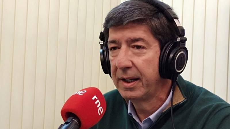Las mañanas de RNE con Íñigo Alfonso - Juan Marín, candidato de Ciudadanos a la presidencia de la Junta de Andalucía - Escuchar ahora
