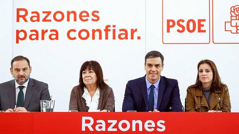 Boletines RNE - El PSOE muestra su apoyo a Susana Díaz pero pide renovación - Escuchar ahora