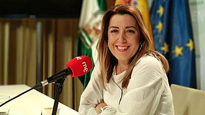 """Las mañanas de RNE con Íñigo Alfonso - Susana Díaz: """"Voy a intentar frenar a la extrema derecha"""" - Escuchar ahora"""