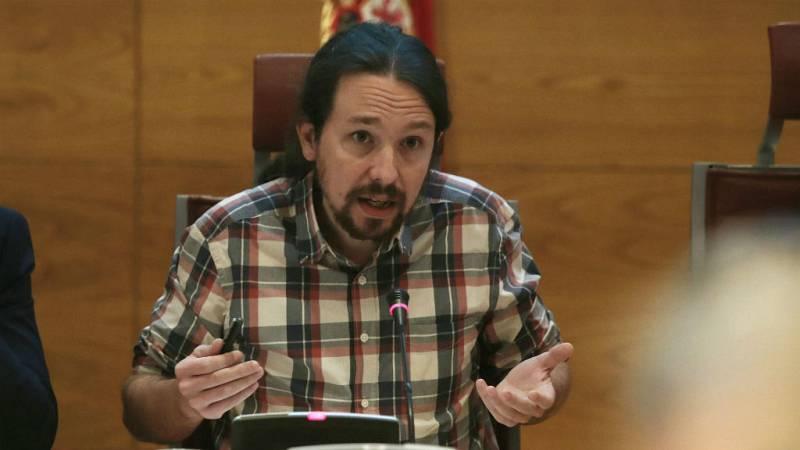 """14 horas - Pablo Iglesias: """"Lo que dice hace años sobre Venezuela no es lo que pienso ahora"""" - escuchar ahora"""