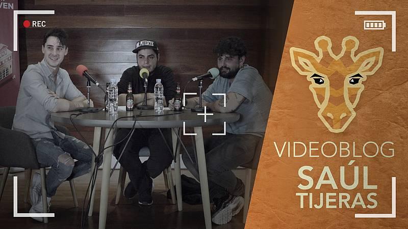 ¡Escucha el segundo podcast de 'Jirafas', con Saúl Tijeras!