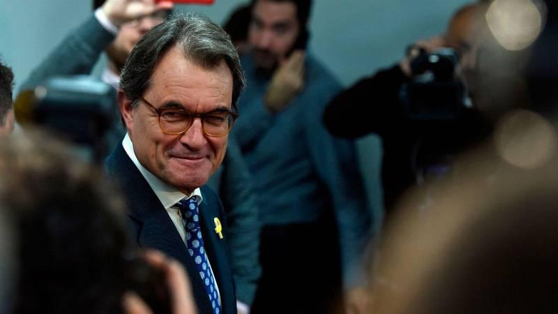 14 Horas - El Tribunal Supremo rebaja a un año y un mes la inhabilitación de Artur Mas - Escuchar ahora