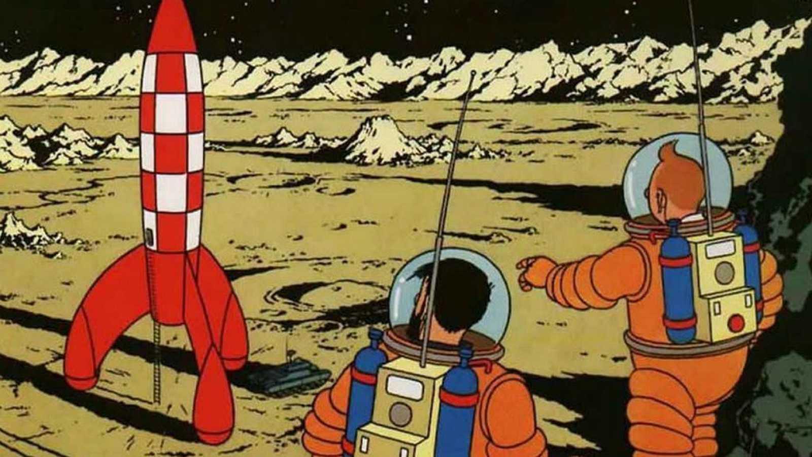 14 horas - Tintín y los 50 años de la llegada a la Luna - escuchar ahora