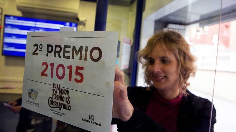 """Lotería de Navidad - La lotera de Castellbisbal que ha vendido el segundo: """"Se ha vendido a los clientes habituales"""" - Escuchar ahora"""