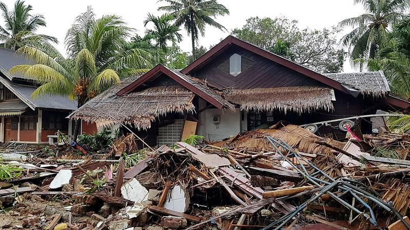 Informativos fin de semana - 14 horas - El poder destructivo del Krakatoa se llevó al cine