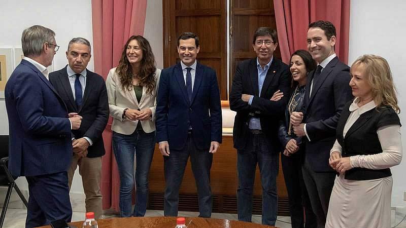 14 horas - Bosquet, presidenta, y Adelante Andalucía fuera de la Mesa del Parlamento - Escuchar ahora
