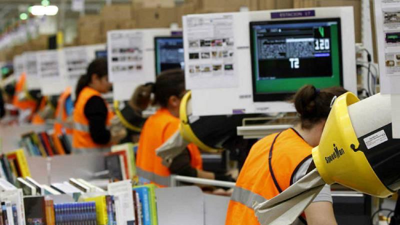 14 horas - Los trabajadores de Amazon siguen en huelga - Escuchar ahora