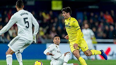 Tablero deportivo - Los goles del Villarreal C.F. 2 Real Madrid 2 - Escuchar ahora