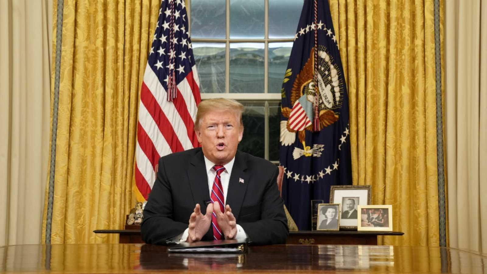 Las mañanas de RNE con Íñigo Alfonso - Trump insiste en que su país atraviesa una crisis de seguridad creciente - Escuchar ahora