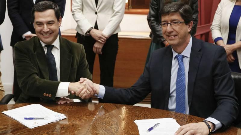 24 horas - El PP asume parte de las propuestas de Vox y logra un acuerdo para investir a Juanma Moreno - escuchar ahora