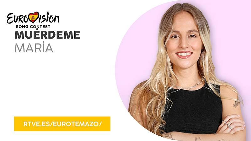 """Eurovisión 2019 - Eurotemazo: Escucha """"Muérdeme"""" de María Villar"""