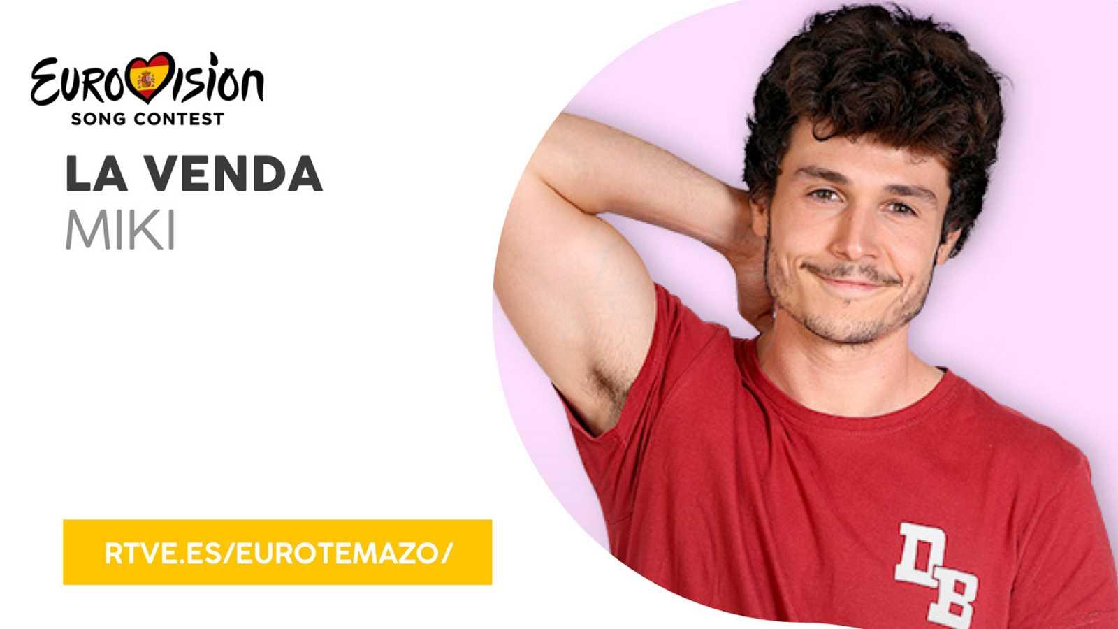 """Eurovisión 2019 - Eurotemazo: Escucha """"La venda"""" de Miki"""