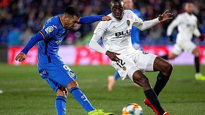 Tablero deportivo - Getafe C.F. 1 Valencia C.F. 0 - Escuchar ahora