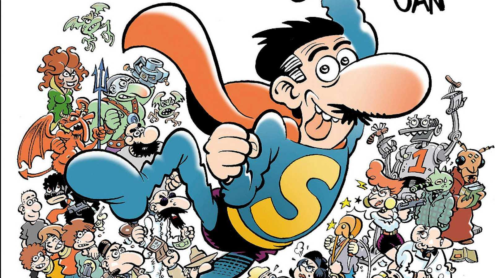 Viñetas y bocadillos - Antoni Guiral: 'El gran libro de SuperLópez' - 30/01/19 - Escuchar ahora