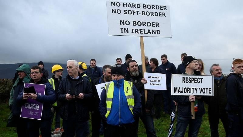 14 horas - La frontera irlandesa, un punto clave en el Brexit