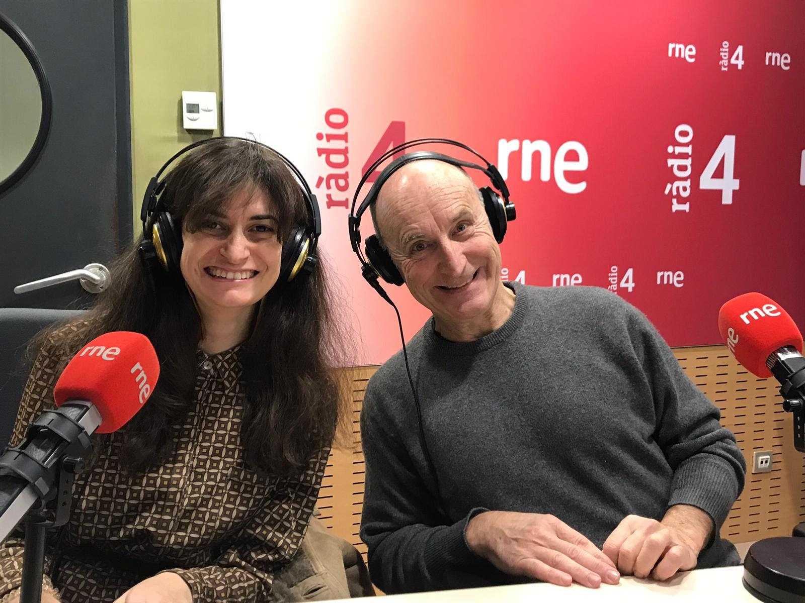 El matí a Ràdio 4 - Entrevista La plaça del Diamant, Paco Mir, Núria Bonet