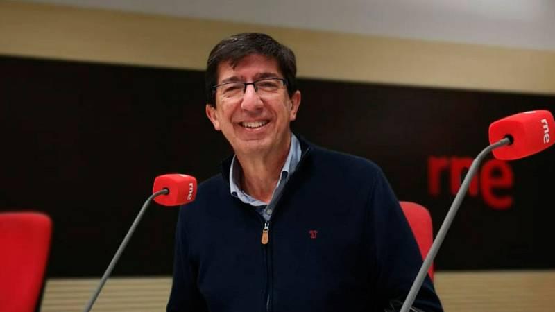 """Las mañanas de RNE con Íñigo Alfonso - Juan Marín (Ciudadanos): """"Sánchez ha perdido los papeles"""" - Escuchar ahora"""
