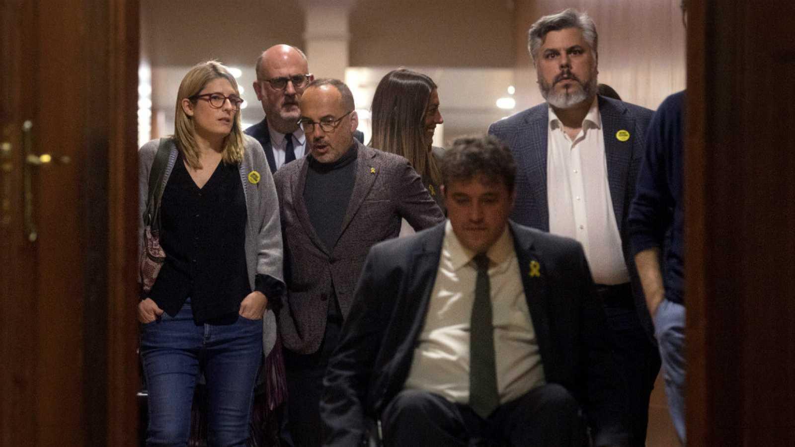 Las mañanas de RNE con Íñigo Alfonso - Los partidos independentistas tratan de ofrecer una imagen de unidad frente al juicio - Escuchar ahora