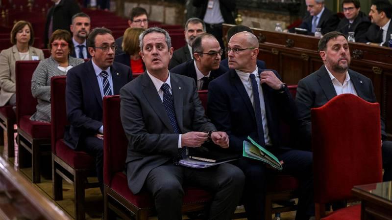 24 horas - Las defenesas cuestionan la imparcialidad del tribunal en el juicio del 'procés' - escuchar ahora