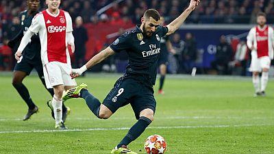 Tablero deportivo - Los goles del Ajax de Amsterdam 1 Real Madrid 2 - Escuchar ahora